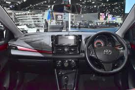 Yaris Sedan 2008 2017 Toyota Yaris Sedan Vios Dashboard Showcased At Bims 2017
