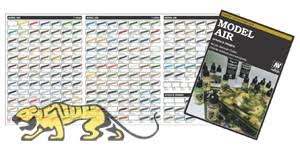 vallejo model air handmade colour chart 2016 vallejo avcc971