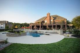 Backyards With Pools Backyard Swimming Pool Inground Landscaping Network