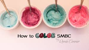 i get so many questions about how to color swiss meringue