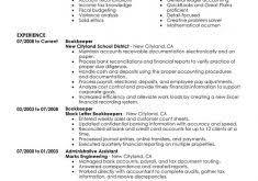 Bookkeeping Resumes Samples by Download Maintenance Resume Sample Haadyaooverbayresort Com