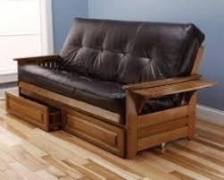 brown futons foter