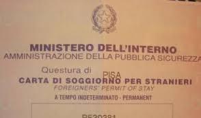 permesso di soggiorno stranieri permesso di soggiorno