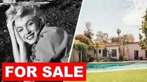look inside marilyn monroe house in brentwood for sale youtube