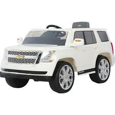 rollplay 6v chevy tahoe ride on vehicle academy