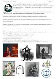 very short biography charles dickens charles dickens biography worksheet by justtheash teaching
