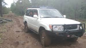 lexus lx470 vs toyota land cruiser 100 factory roof rack removal page 6 ih8mud forum