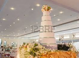 Decoration For Wedding Luxury Wedding Cake Stock Photo Picture And Royalty Free Image
