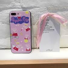 pengweisheng case super beautiful cute peppa pig case