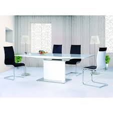 Gloss White Dining Table And Chairs Modern White Gloss Dining Table Maggieshopepage