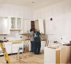 semi custom kitchen cabinets installing semicustom cabinets homebuilding