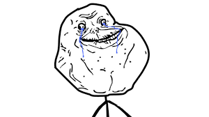 Forever Alone Meme Face - forever alone fail wins over japan