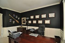 Desk Carpet Traditional Home Office With Art Desk U0026 Dark Walls In Tigard Or