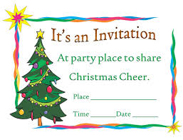 sample of invitation card for christmas party u2013 fun for christmas