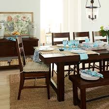dining room table placemats eastwood tobacco brown dining tables pier 1 imports