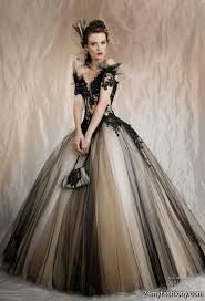 black wedding dress 2016 2017 b2b fashion
