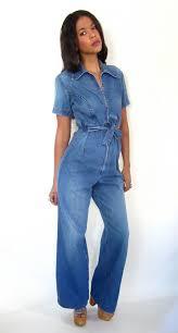 jean one jumpsuit 25 best jean jumpsuits images on jumpsuit blue