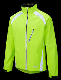 fluorescent waterproof cycling jacket new oska hi vis yellow waterproof cycling jacket foska com