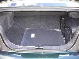 mustang convertible trunk shaker 1000 and loss of trunk space pictures the mustang