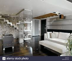 Living Room With Stairs Design Glass Wall Cabinet Living Room Conceptstructuresllccom Living