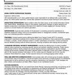 Military Resume Sample by Sample Military Resume For Civilian Job Simple Sample Military
