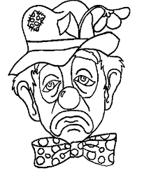 coloring pages of scary clowns printable clown coloring pages coloring home