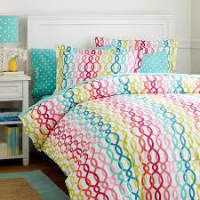 Pb Teen Duvet Bedding Duvet Cover Pink Red Orange Turquoise Teal And