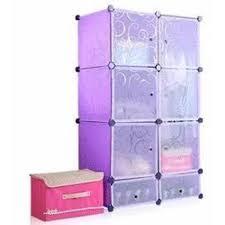 Shelf Organizer by 6 Door Plastic Shelf Organizer Clothes Cabinet With 2 Shoe Cabinet