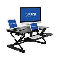 sit and stand desk platform flexispot standing desk 35 wide platform height adjustable stand