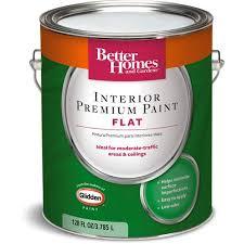 Interior Flat Paint Better Homes And Gardens Interior Flat Paint 1 Gal Walmart Com