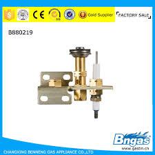gas burner spark ignition electrode flame sensor gas burner spark