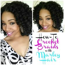 crochet marley hair how to crochet braids w marley hair