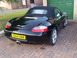 porsche boxster 986 black with 96k fsh u0026 mot jan 2018 in