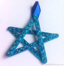 Kid Crafts For Christmas - easy christmas crafts for kids craft stick stars
