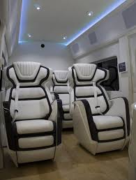Ford Van Interior Ford Transit Skyliner Concept Is The New York Auto Show U0027s Party Van
