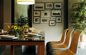 gallery art wall retro modern dining by reinaldo framed artistic