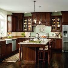 thomasville glass kitchen cabinets addington 14 1 2 x 14 1 2 in cabinet door sle in roast