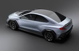 mazda kai concept nissan imx concept next gen subaru wrx car