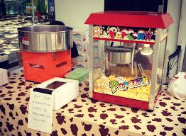 rent popcorn machine event stalls machines rental singapore balloon decoration