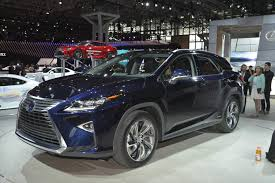 lexus rx new york motor show all new 2016 lexus rx makes global debut at the new york auto show