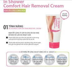 Shower Comfort Kem Tẩy Lông Missha In Shower Comfort Hair Removal Cream