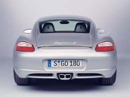 porsche cayman silver 2006 porsche cayman s production silver rear studio