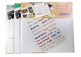 webway photo albums webway album refill page journal page fw 12jp 12x12 4 pages