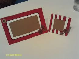 diy cardboard picture frames a photo holder home diy on cut