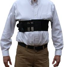 alpha holster concealed carry chest band gun holster w removable