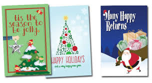 christmas cards themed greeting cards