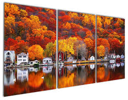 art painting for home decoration online get cheap decoration wall scenery village aliexpress com