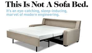 70 Sleeper Sofa by Comfort Sleeper No Bars No Springs No Sagging Houseworks