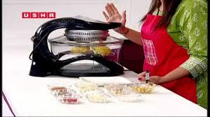 usha halogen oven recipe demo video youtube