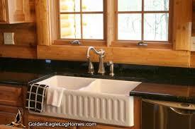 log home kitchen ideas golden eagle log and timber homes design ideas log home kitchens